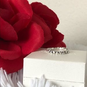 Pandora Ring Forever Love Hearts